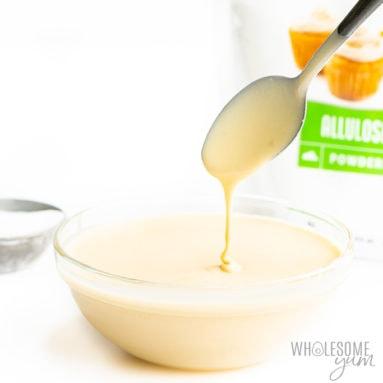 sugar-free sweetened condensed milk