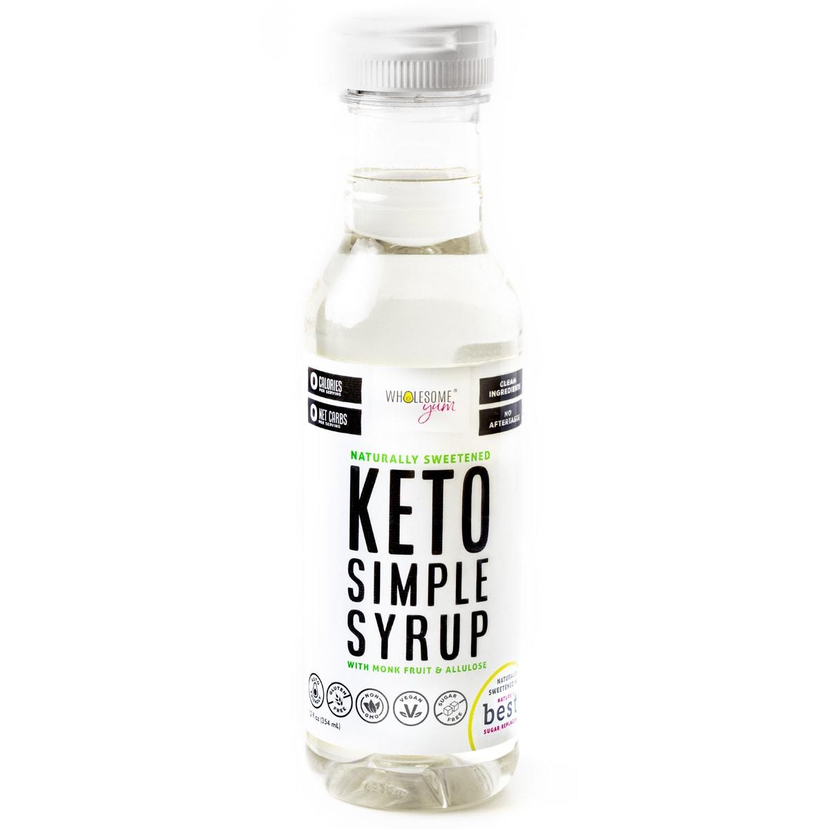 Wholesome Yum Sugar-Free Simple Syrup