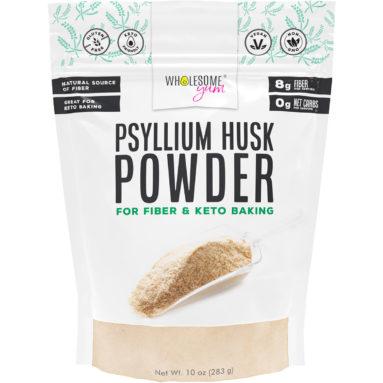 Psyllium Husk Powder front of package